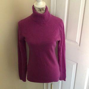 J Crew cashmere turtleneck sweater